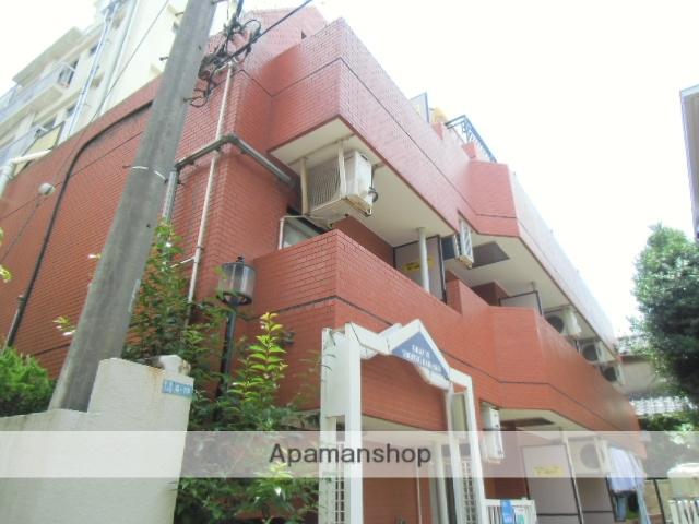東京都目黒区、都立大学駅徒歩3分の築25年 4階建の賃貸マンション