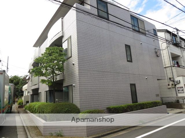 東京都目黒区、祐天寺駅徒歩12分の築25年 3階建の賃貸マンション
