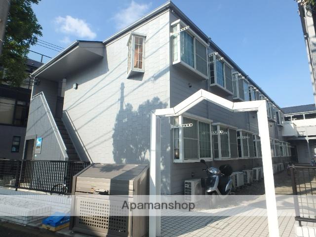 東京都江戸川区、瑞江駅徒歩18分の築25年 2階建の賃貸アパート