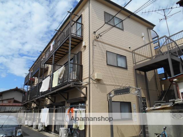 東京都江戸川区、瑞江駅徒歩14分の築26年 3階建の賃貸アパート