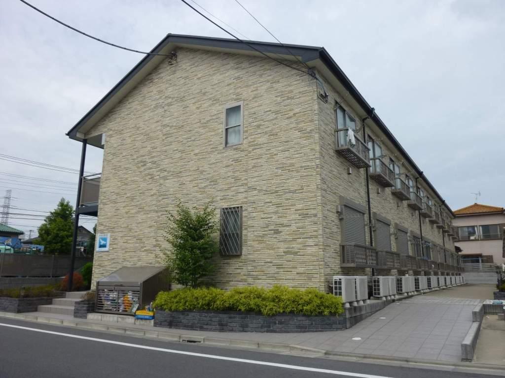東京都江戸川区、船堀駅徒歩24分の築10年 2階建の賃貸アパート