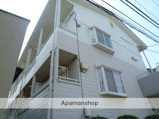 東京都江戸川区、小岩駅徒歩37分の築25年 3階建の賃貸アパート