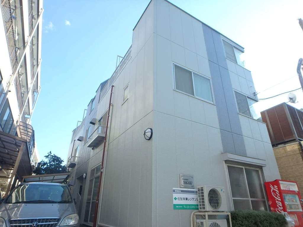 東京都江戸川区、東大島駅徒歩27分の築28年 3階建の賃貸マンション