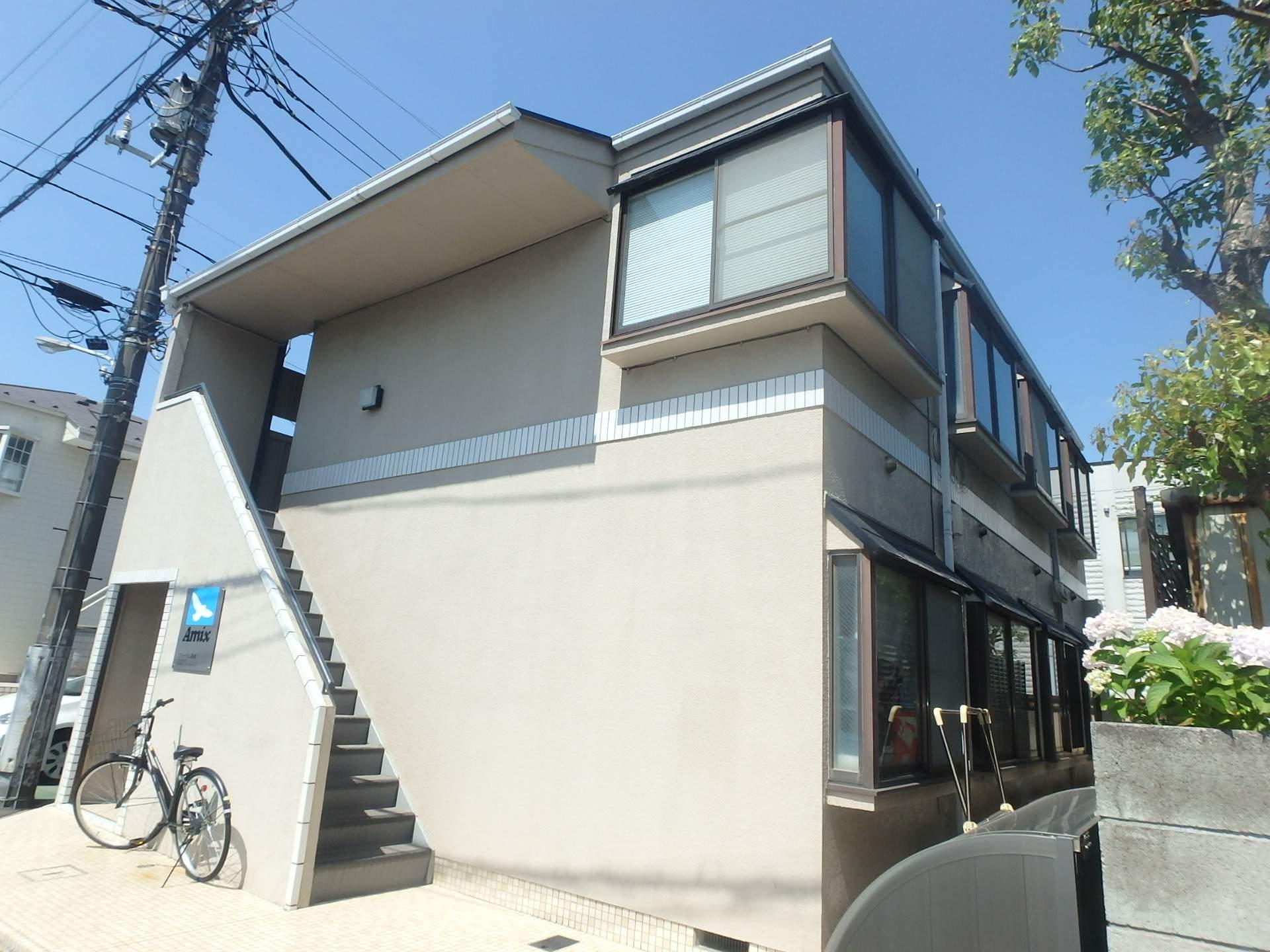 東京都江戸川区、篠崎駅徒歩15分の築29年 2階建の賃貸アパート