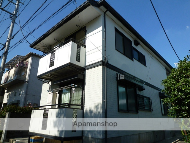 東京都江戸川区、船堀駅徒歩25分の築21年 2階建の賃貸アパート