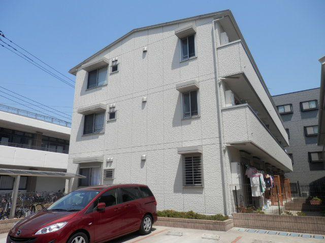 東京都江戸川区、一之江駅徒歩25分の築10年 3階建の賃貸アパート