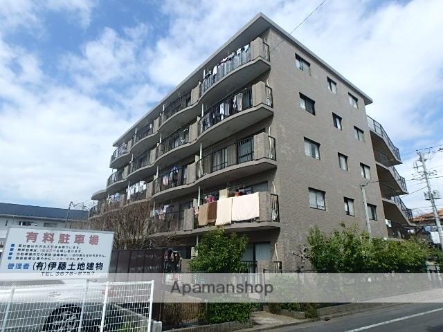 東京都江戸川区、瑞江駅徒歩13分の築24年 5階建の賃貸マンション