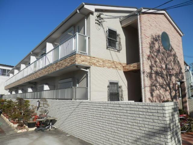 東京都江戸川区、小岩駅徒歩26分の築8年 2階建の賃貸アパート