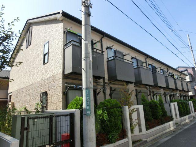東京都江戸川区、船堀駅徒歩21分の築13年 2階建の賃貸アパート