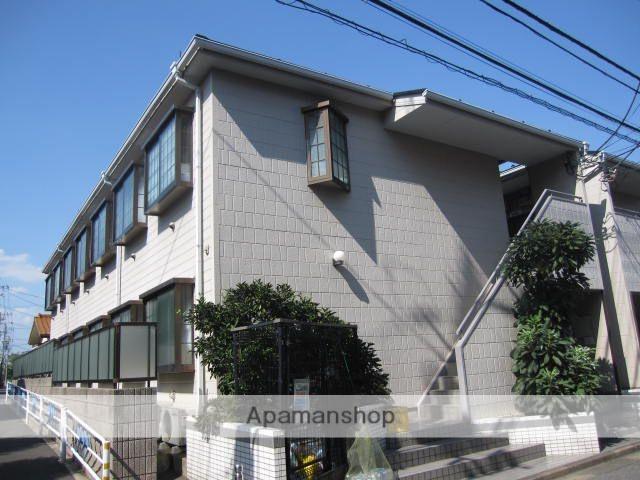 東京都江戸川区、篠崎駅徒歩17分の築22年 2階建の賃貸アパート