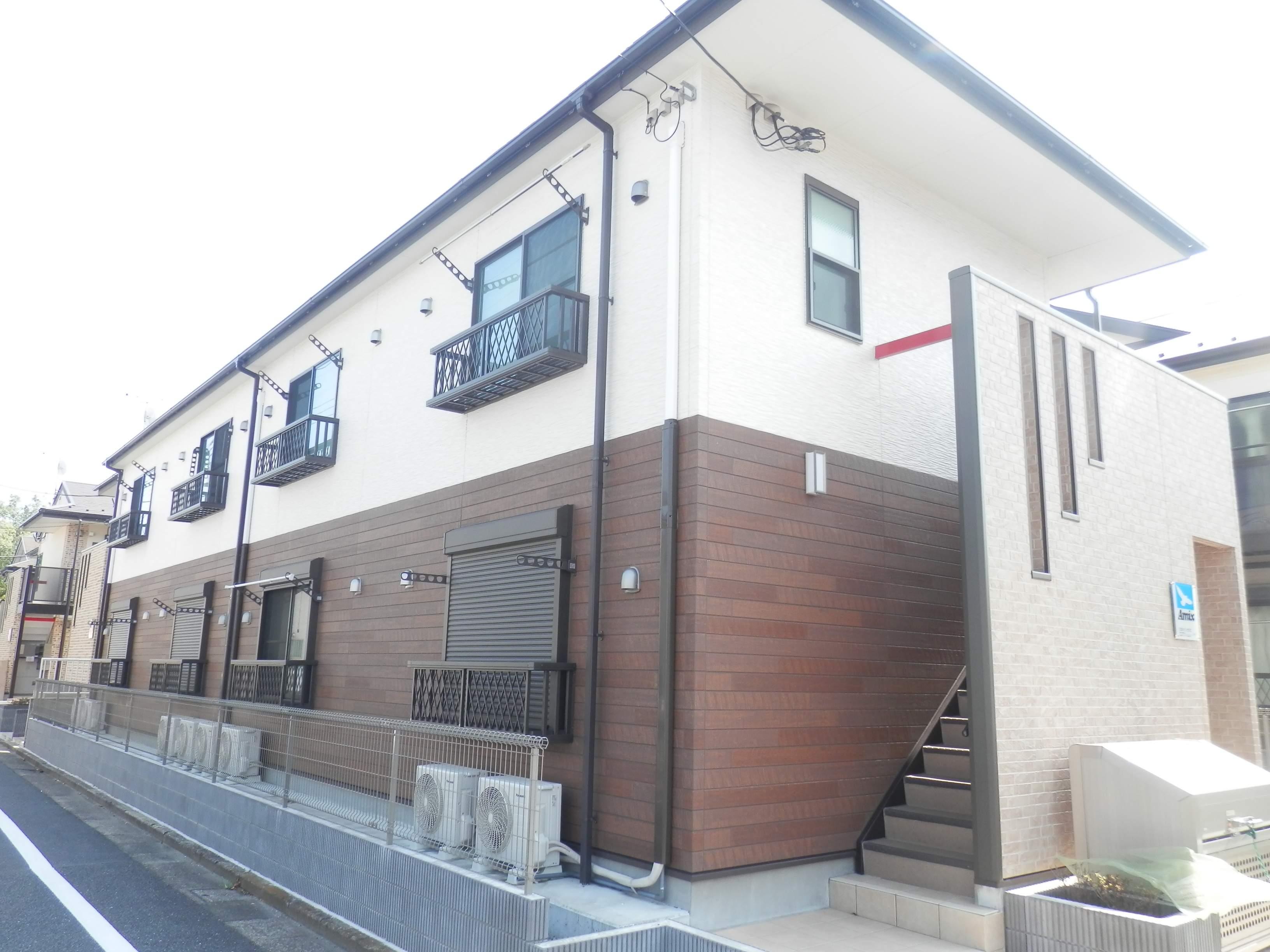 東京都江戸川区、瑞江駅徒歩18分の築4年 2階建の賃貸アパート