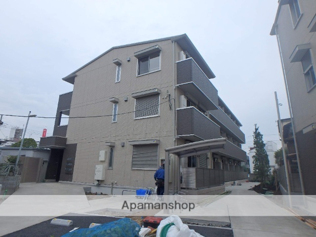 東京都江戸川区、船堀駅徒歩22分の新築 3階建の賃貸アパート