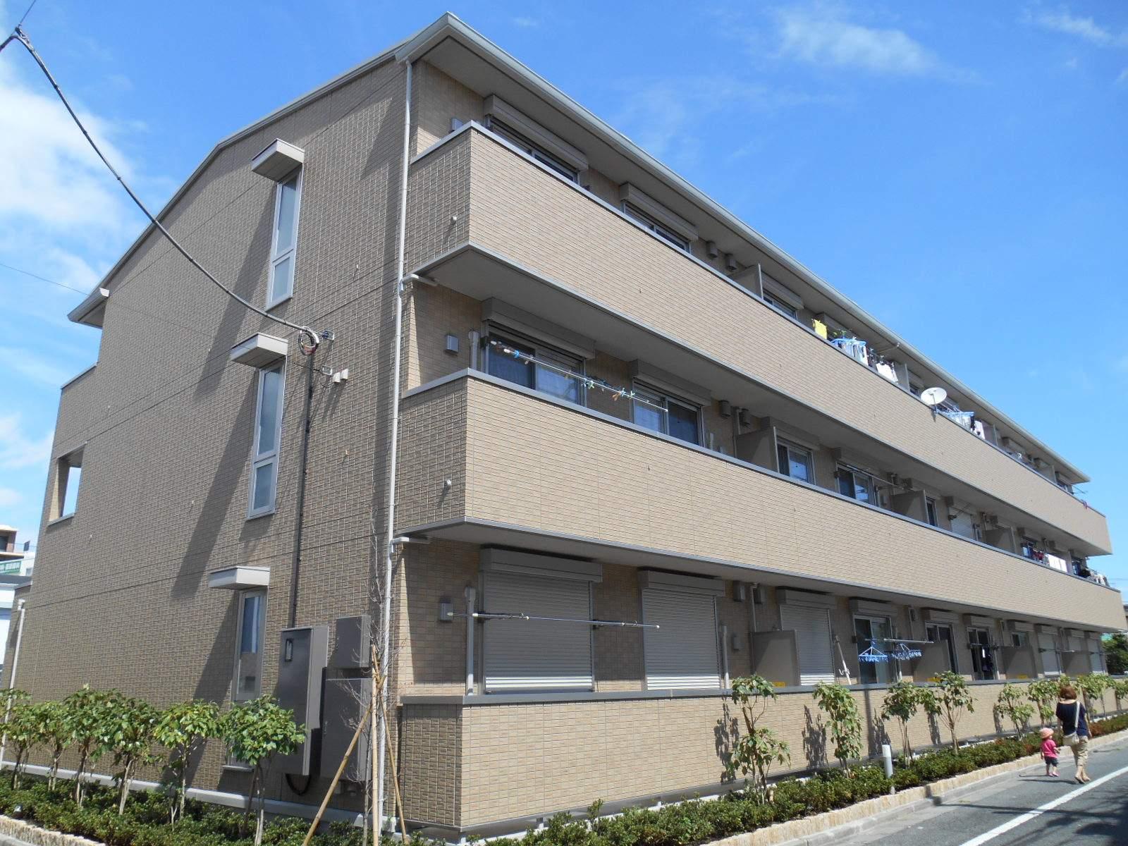 東京都江戸川区、妙典駅徒歩43分の築3年 3階建の賃貸アパート