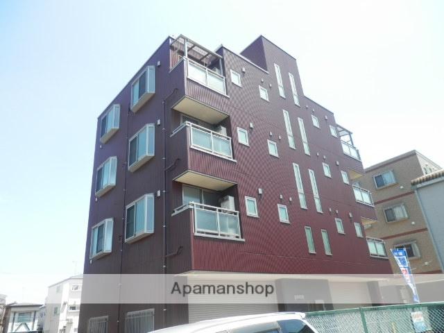 東京都江戸川区、船堀駅徒歩30分の築3年 4階建の賃貸マンション