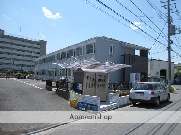 東京都江戸川区、西葛西駅徒歩22分の築24年 2階建の賃貸アパート