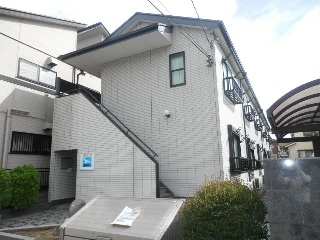 東京都江戸川区、新小岩駅都営バスバス25分一之江丁目下車後徒歩1分の築15年 2階建の賃貸アパート