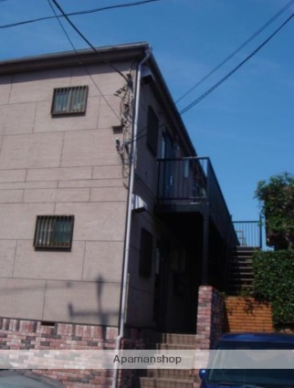 東京都世田谷区、自由が丘駅徒歩10分の築21年 2階建の賃貸アパート