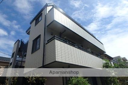 東京都世田谷区、二子新地駅徒歩14分の築17年 3階建の賃貸アパート