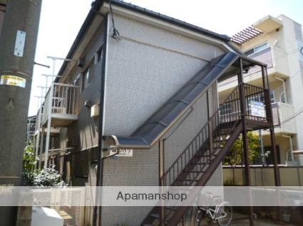 神奈川県川崎市高津区、二子新地駅徒歩10分の築32年 2階建の賃貸アパート
