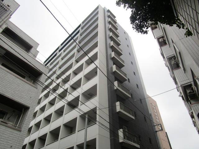 東京都文京区、飯田橋駅徒歩10分の築8年 12階建の賃貸マンション