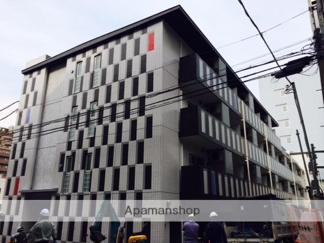 東京都新宿区、飯田橋駅徒歩7分の築1年 4階建の賃貸マンション