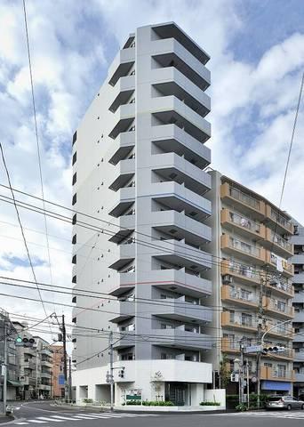 東京都文京区、駒込駅徒歩9分の築6年 13階建の賃貸マンション