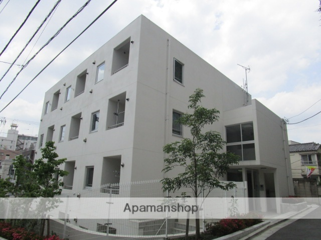 東京都文京区、本駒込駅徒歩10分の築4年 3階建の賃貸マンション