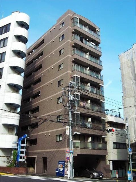 東京都渋谷区、渋谷駅徒歩12分の築17年 9階建の賃貸マンション