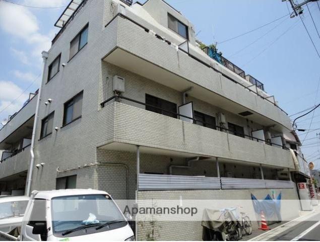 東京都目黒区、都立大学駅徒歩10分の築24年 4階建の賃貸マンション