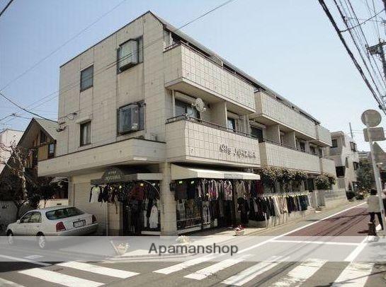 東京都目黒区、祐天寺駅徒歩18分の築25年 3階建の賃貸マンション