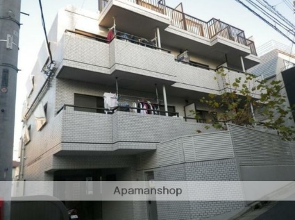 東京都目黒区、神泉駅徒歩11分の築30年 4階建の賃貸マンション