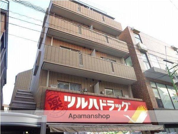 東京都目黒区、武蔵小山駅徒歩12分の築14年 6階建の賃貸マンション