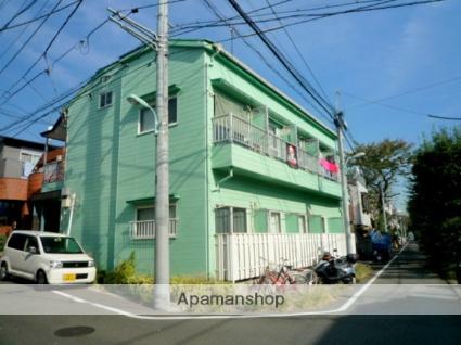 東京都目黒区、学芸大学駅徒歩20分の築29年 2階建の賃貸アパート
