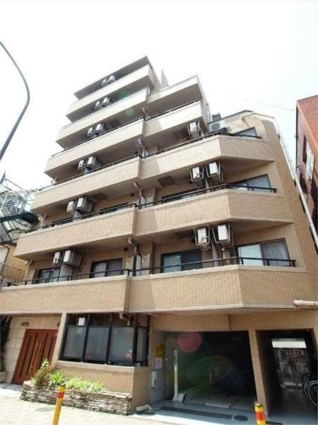 東京都目黒区、学芸大学駅徒歩20分の築15年 7階建の賃貸マンション