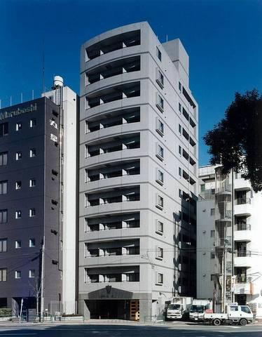 東京都港区、田町駅徒歩9分の築16年 11階建の賃貸マンション