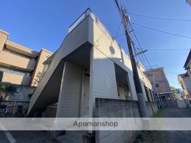 東京都品川区、目黒駅徒歩8分の築23年 2階建の賃貸アパート