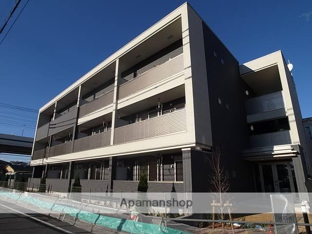 東京都足立区、綾瀬駅徒歩20分の築2年 3階建の賃貸マンション