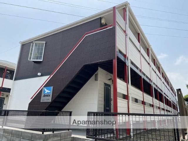 東京都足立区、北綾瀬駅徒歩12分の築24年 2階建の賃貸アパート