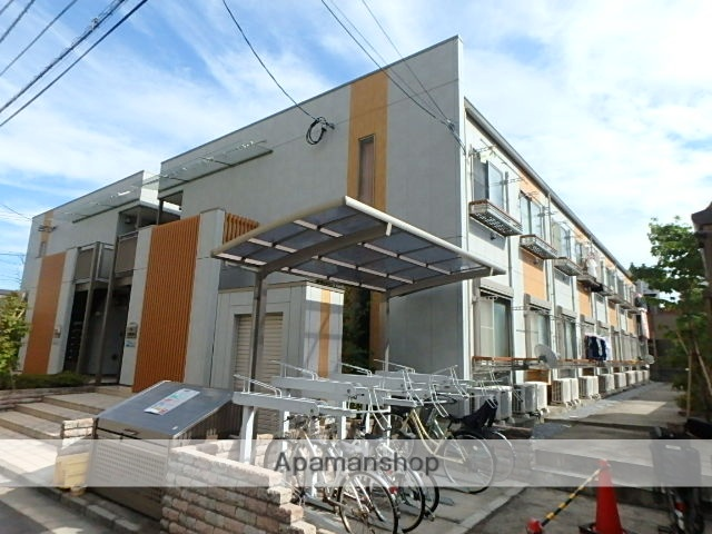 東京都葛飾区、綾瀬駅徒歩5分の築7年 2階建の賃貸アパート