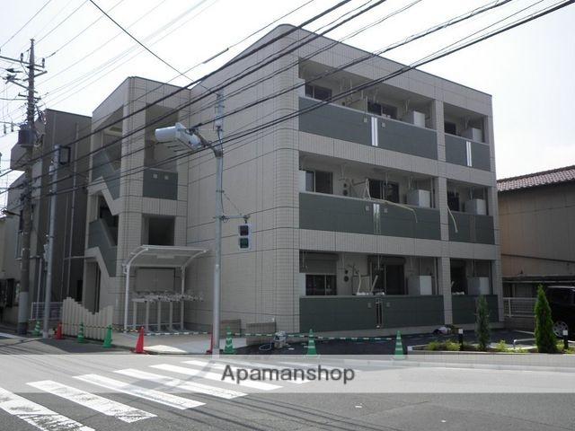 東京都足立区、綾瀬駅東武バスバス8分北加平停下車後徒歩4分の築5年 3階建の賃貸アパート