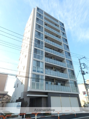 東京都足立区、北綾瀬駅徒歩20分の築3年 10階建の賃貸マンション