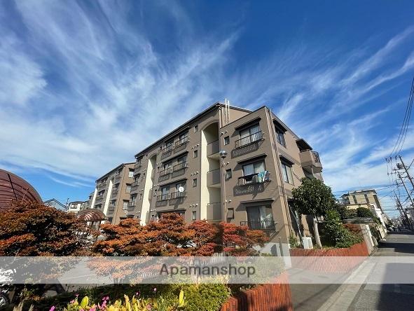 東京都葛飾区、綾瀬駅徒歩16分の築30年 4階建の賃貸マンション