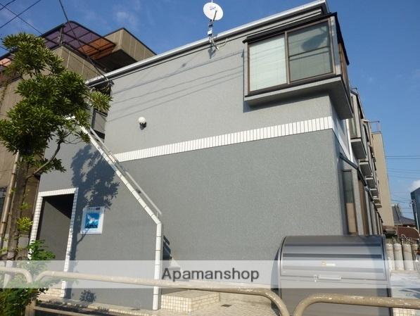 東京都足立区、綾瀬駅徒歩26分の築30年 2階建の賃貸アパート
