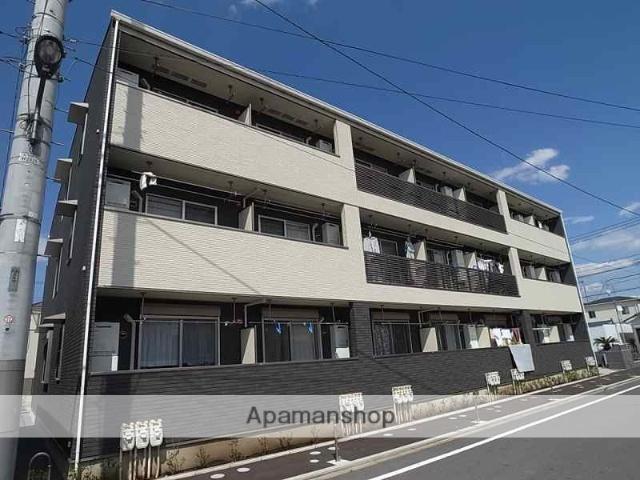 東京都足立区、谷塚駅徒歩27分の築4年 3階建の賃貸アパート
