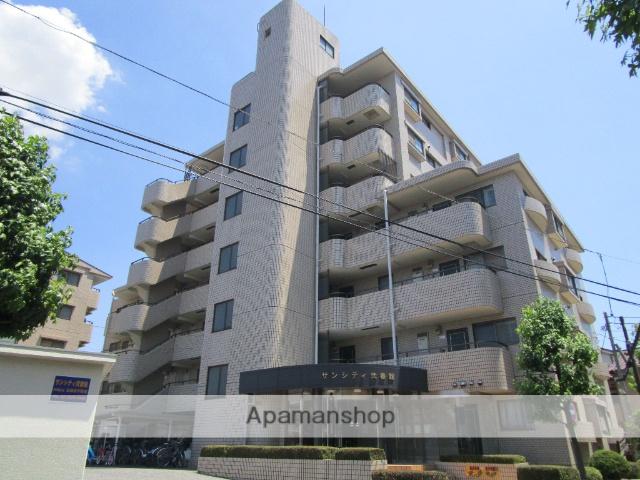 東京都葛飾区、綾瀬駅徒歩20分の築27年 7階建の賃貸マンション