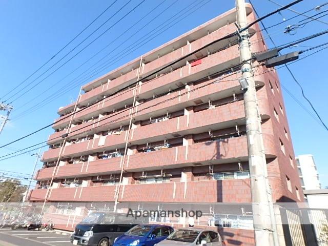 東京都足立区、綾瀬駅徒歩12分の築24年 7階建の賃貸マンション