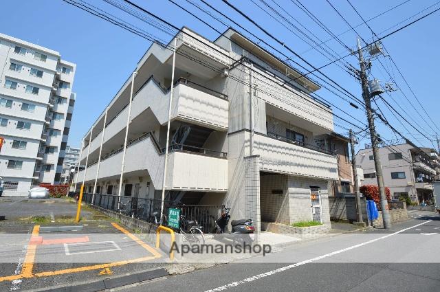 東京都足立区、綾瀬駅徒歩7分の築27年 3階建の賃貸マンション