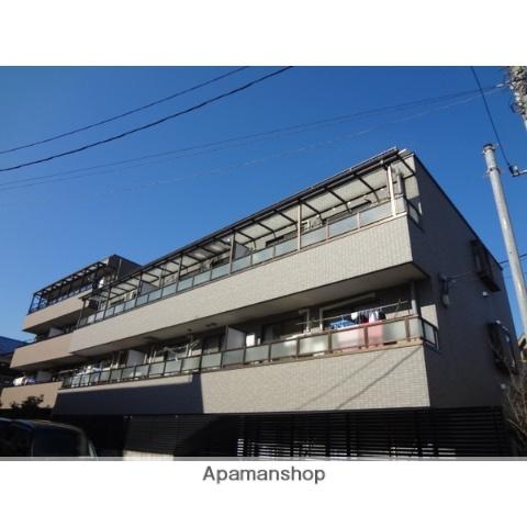 東京都足立区、綾瀬駅徒歩15分の築21年 3階建の賃貸マンション