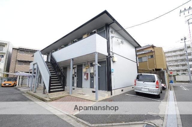 東京都葛飾区、堀切駅徒歩24分の築25年 2階建の賃貸マンション