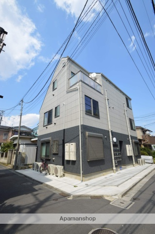 東京都足立区、亀有駅徒歩13分の新築 3階建の賃貸アパート